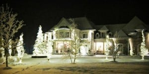 house exterior christmas lights
