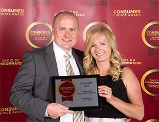Consumer's Choice Award for Best Lawn Care Service 2015 to LawnSavers