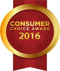 Consumer Choice Award Winner 2016