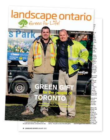 LawnSavers helps restore green to Toronto's St. James Park