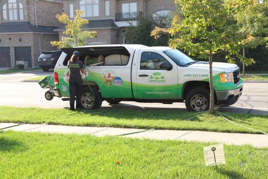 mississauga lawn care lawnsavers weed control