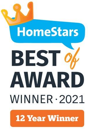 HomeStars 12 Time Winner